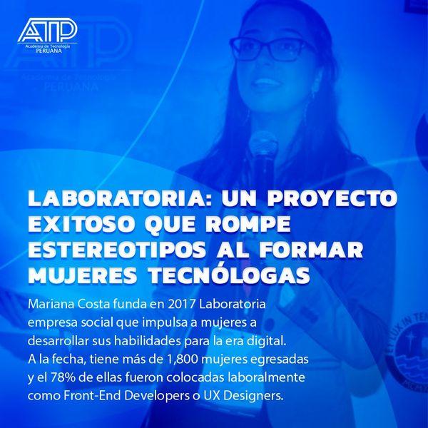 Mujeres tecnológicas: Mariana Costa – Laboratoria