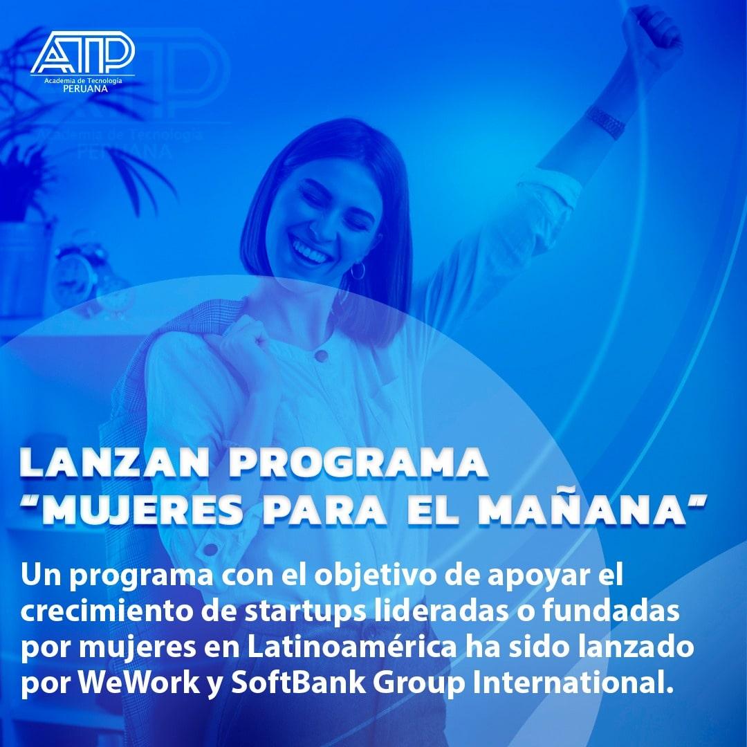 Lanzan programa «Mujeres para el mañana»