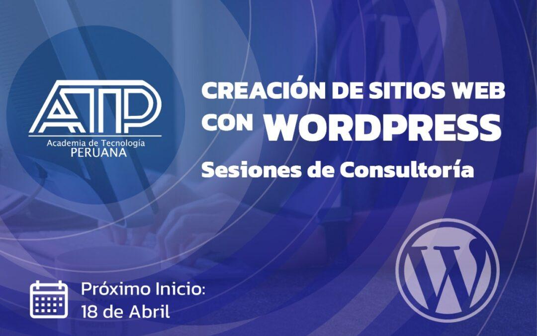 Creación de sitios web con WordPress