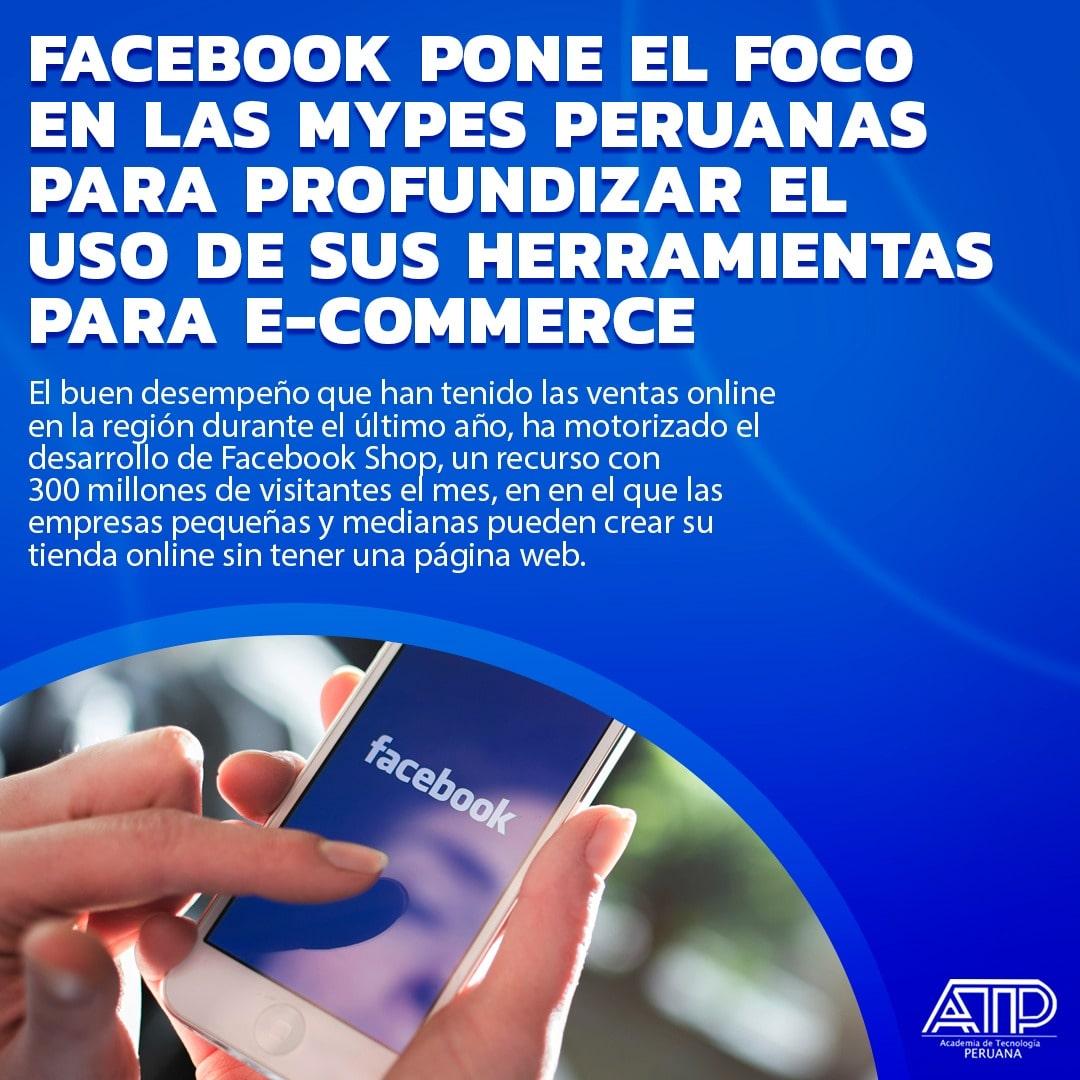 Facebook pone el foco en las MYPES peruanas