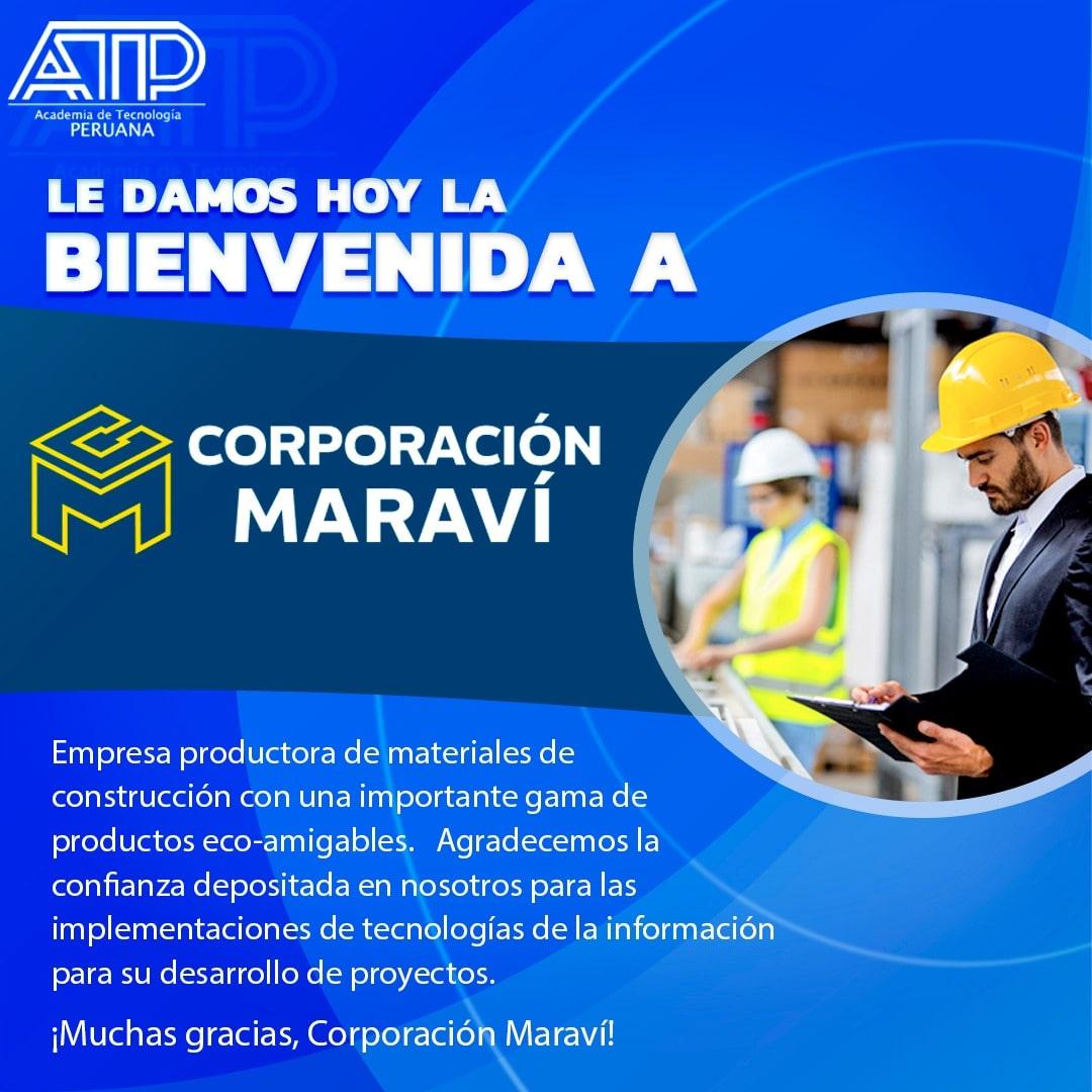 Le damos hoy la bienvenida a Corporación Maraví